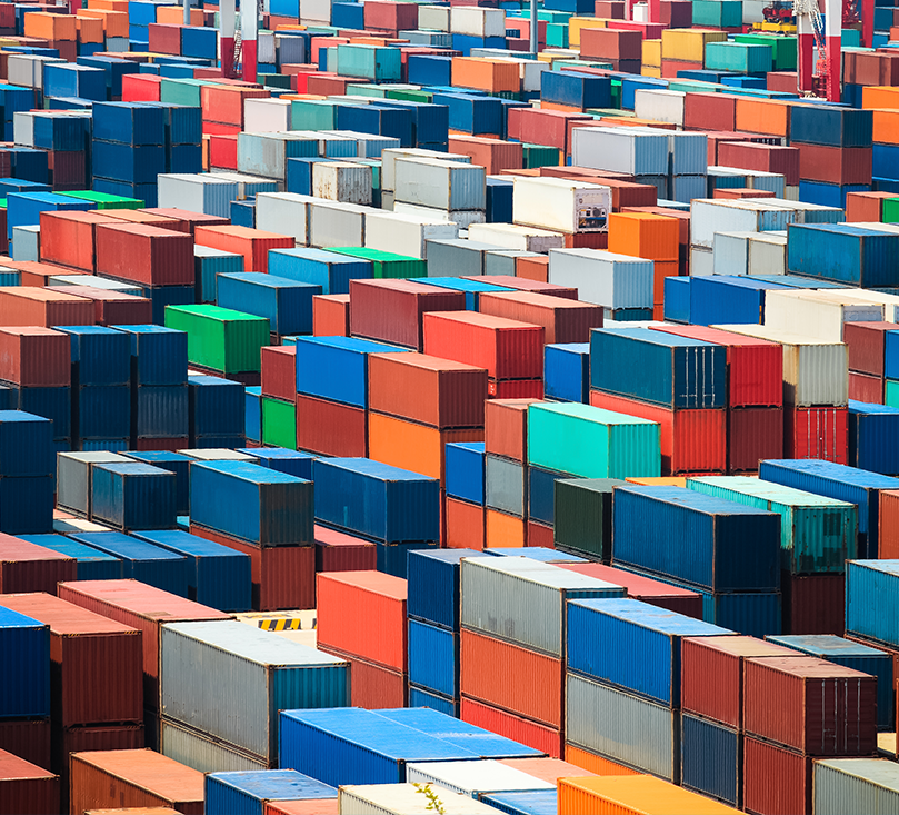 Container Terminal Lot Full of Multi-Colored Shipping Containers - Customs and Trade Compliance