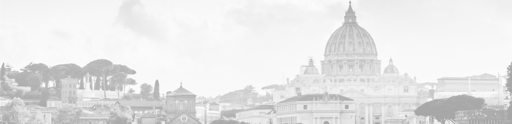 Transparent-Gray Background of City in Italy