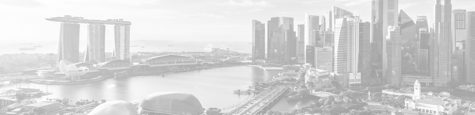 Transparent-Gray Background of Buildings in Singapore - BluJay Customs Management